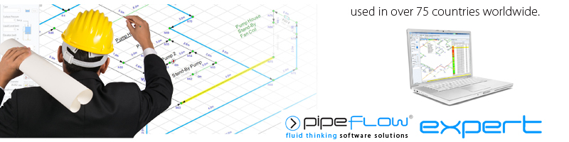 Piping Design Software: Pipe Flow Calculations and Pipe Pressure Drop Calculations